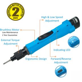 Line Battery series torque screwdriver for assembly jobs