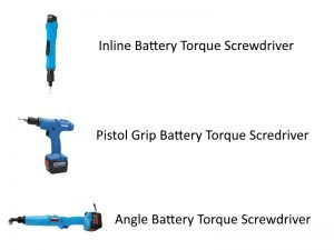 Express Assembly Battery Torque tools